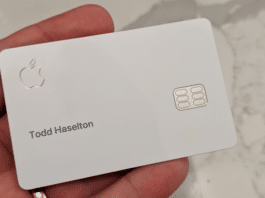 Smarrimento iPhone con Apple Card