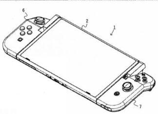 Brevetto Joy-Con pieghevoli Nintendo Switch