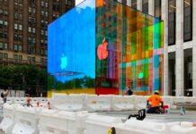 Cubo Apple Fifth Avenue a New York