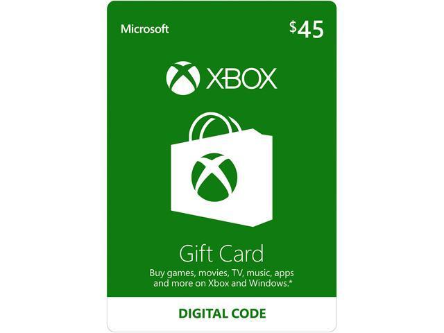 Errore Amazon gift card Xbox Live da 45 a 5 euro