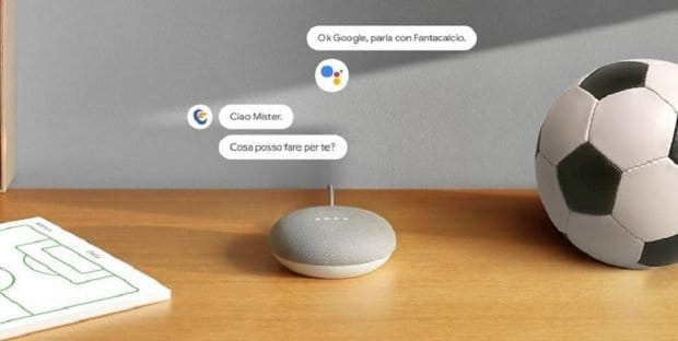 Google Assistant Action per il Fantalcalcio