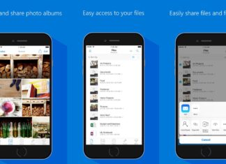 Microsoft record download OneDrive PlayStore