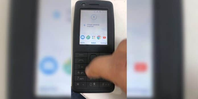 Nokia feature phone con Android