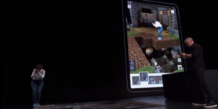 Occhiali Apple a realtà aumentata su iOS 13