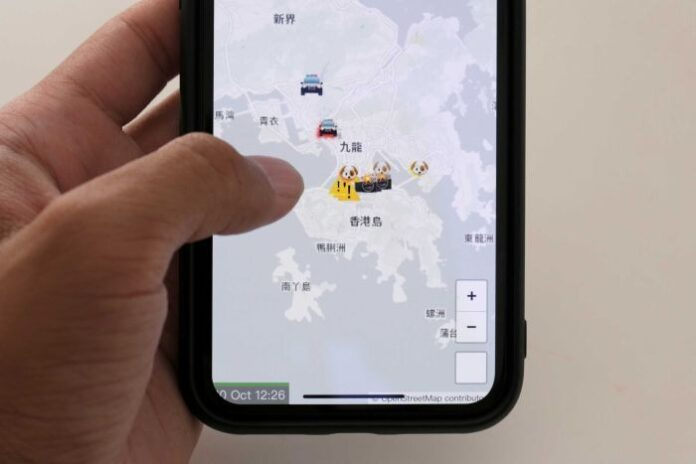 Apple rimuove l'app HKmap.live in Hong Kong