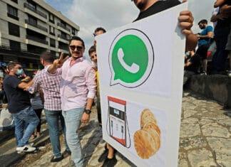 Libano tasse su Whatsapp e Facebook Messenger