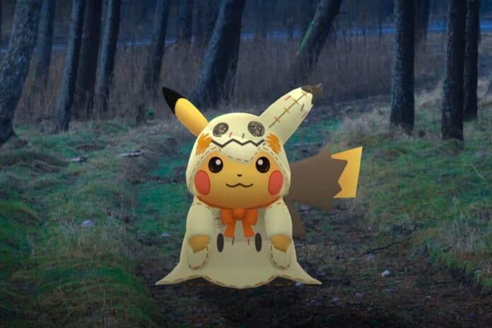 Pokémon GO Halloween 2019 evento