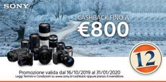 Sony promozione cashback fino a €800
