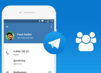 Telegram aggiornamento per Android, changelog 5 12 1