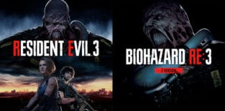 Capcom propone il remake di Resindent Evil 3, copertine ufficiali