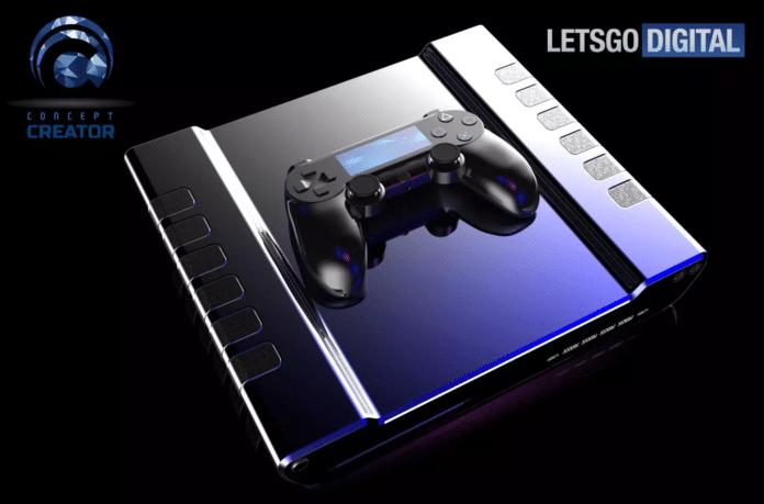 DualShock 5 per PS5 immagini rendering