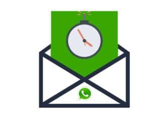 Su Whatsapp messaggi autodistruzione
