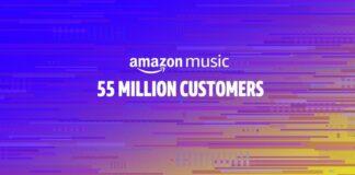 Amazon Musica conta 55 milioni di clienti paganti