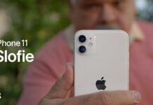 Apple spot pubblicitario slofie iPhone 11