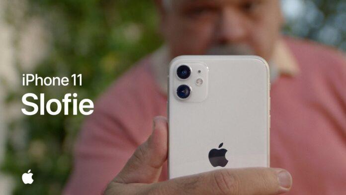Apple spot pubblicitario slofie iPhone 11