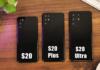 Immagini e prezzi Samsung Serie S20