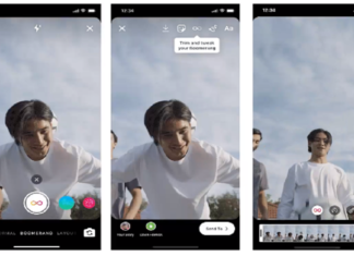 Instagram aggiunge filtri stories SlowMo, Echo e Duo