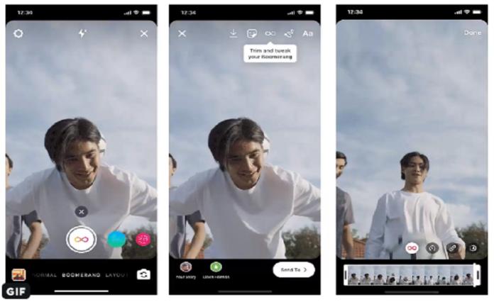 Instagram aggiunge filtri stories SlowMo, Echo e Duo