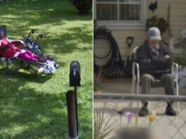 Leslie Barraza rivede il nonno defunto su Google Maps