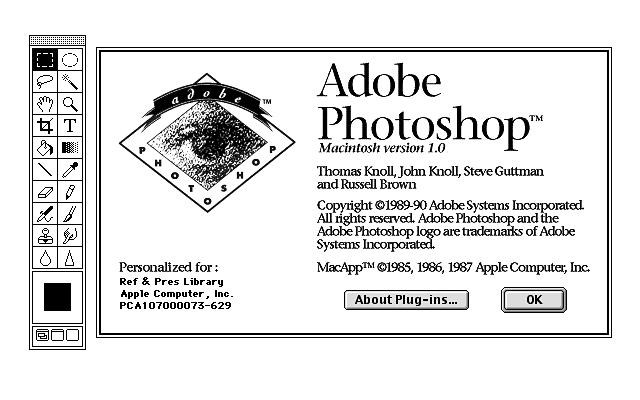 Compleanno Photoshop 19 febbraio 1990 30 anni