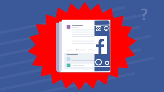 Facebook box feed coronavirus