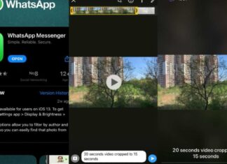 Whatsapp riduce video in India