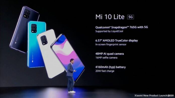 Xiaomi Mi 10 Lite 5G prezzo e caretteristiche