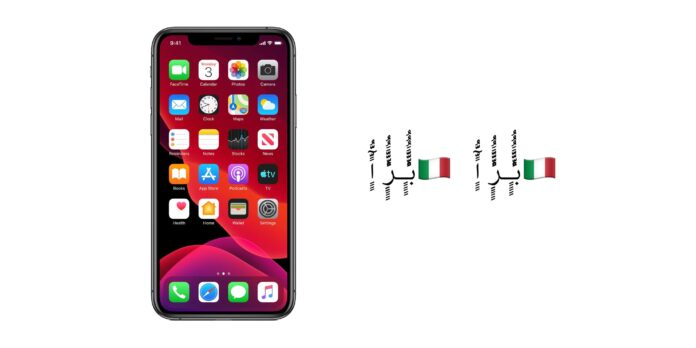 Bug iPhone Apple emoji bandiera italiana