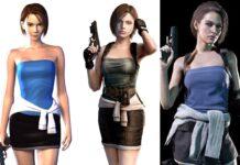 Jill Valentine skort remake Resident Evil 3