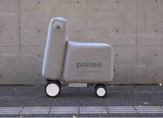 Scooter gonfiabile POIMO mobilità elettrica