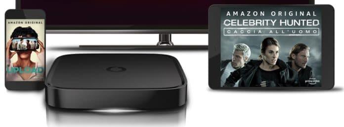 Vodafone TV regala Amazon Prime Video per 6 mesi