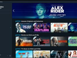 Amazon Prime Video su Windows Store