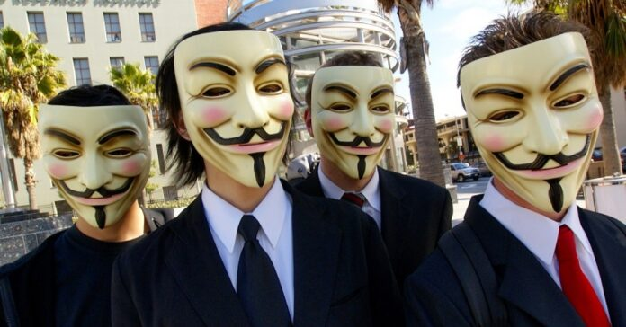 Anonymous hacker CCIAA Roma