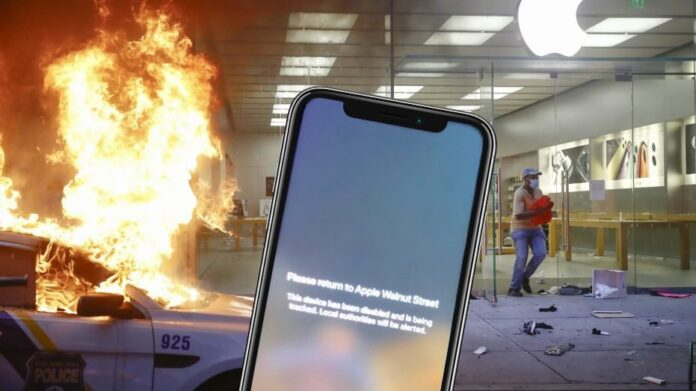 Apple blocca iPhone rubati per morte di George Floyd