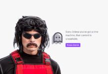 Dr Disrespect ban a vita Twitch TV