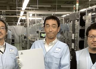 Foto PlayStation 5 in fabbrica