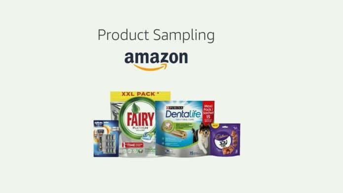 Amazon Product Sampling come funziona