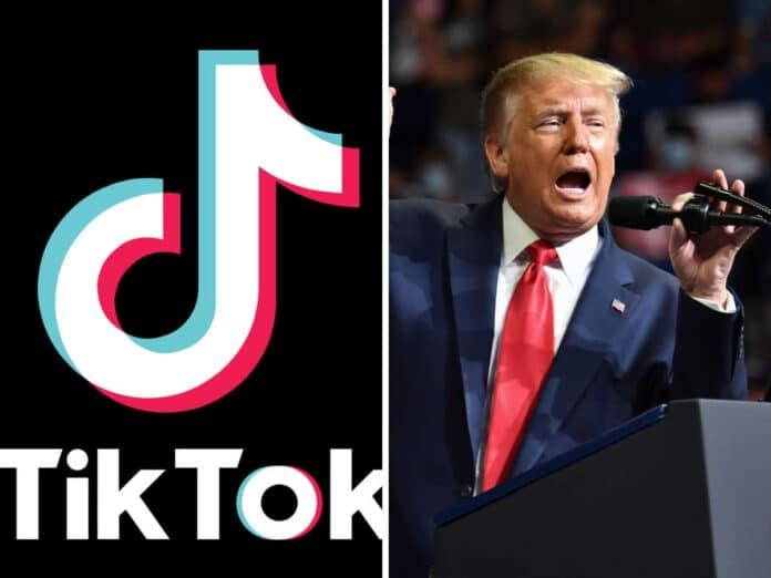Donald Trump contro TikTok