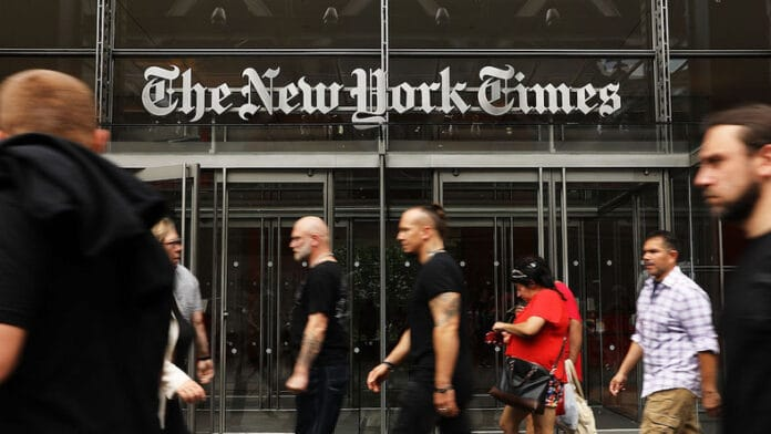 New York Times rimuove Apple News
