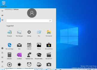 Nuovo Menu Start Windows 10