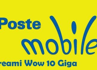 PosteMobile Creami Wow 10 GB