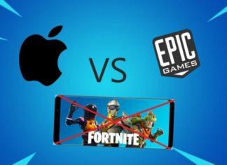 Epic Games contro Apple sentenza Fortnite