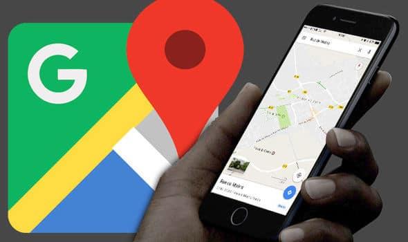 Google Maps avviso incendio