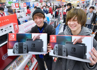 Record Nintendo Switch vendute