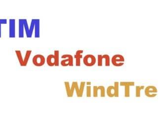 TIM Vodafone e WindTre