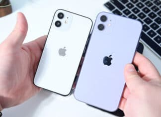 Apple iPhone 12 Mini schermo