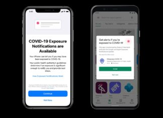 Google e Apple Exposure Notifications Express Covid-19