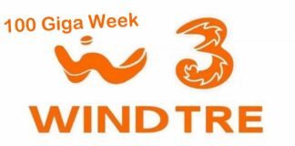 WindTre 100 Giga Week