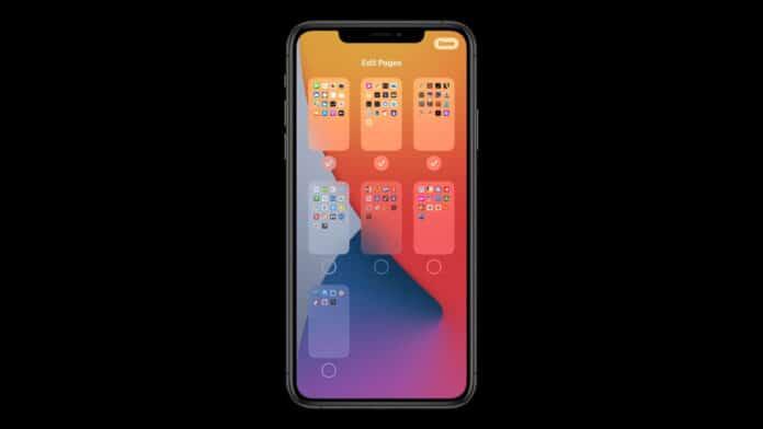 iOS 14 nascondere album Foto