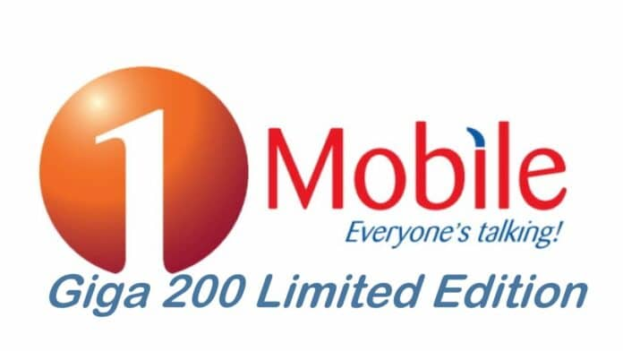 1Mobile Giga 200 Limited Edition